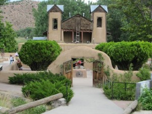 Chapel at Chimayo, New Mexico, was built by Basque Bernardo Abeyta. Photo: Steve Bass
