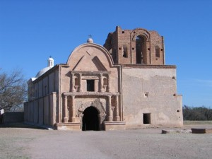 Basque frontier soldiers were stationed at or lived near the Mission at Tumacácori, Arizona. Photo: Steve Bass.