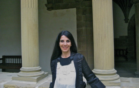 Costume designer Ane Albisu at the San Telmo Museum