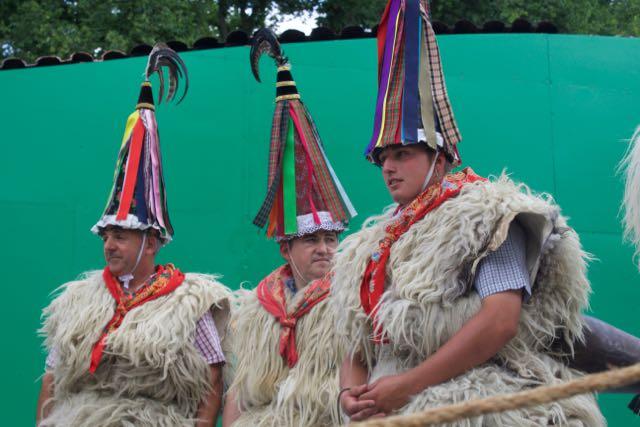 The+Joaldunak+of+Ituren+present+their+tradition+at+the+Smithsonian+Folklife+Festival.