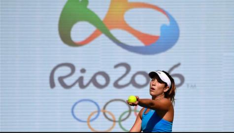 Garbiñe Muguruza at Rio Olympics