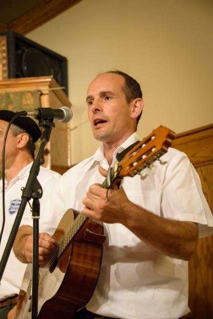 Menditarrak singers from Banka, Nafarroa Beherea.