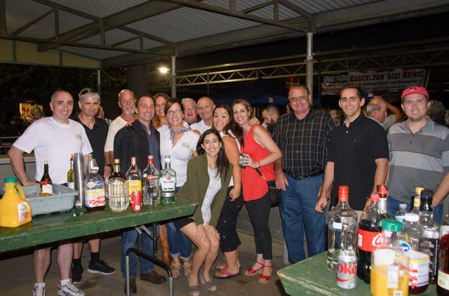 The bar crew at Chino Basque Festival 2016