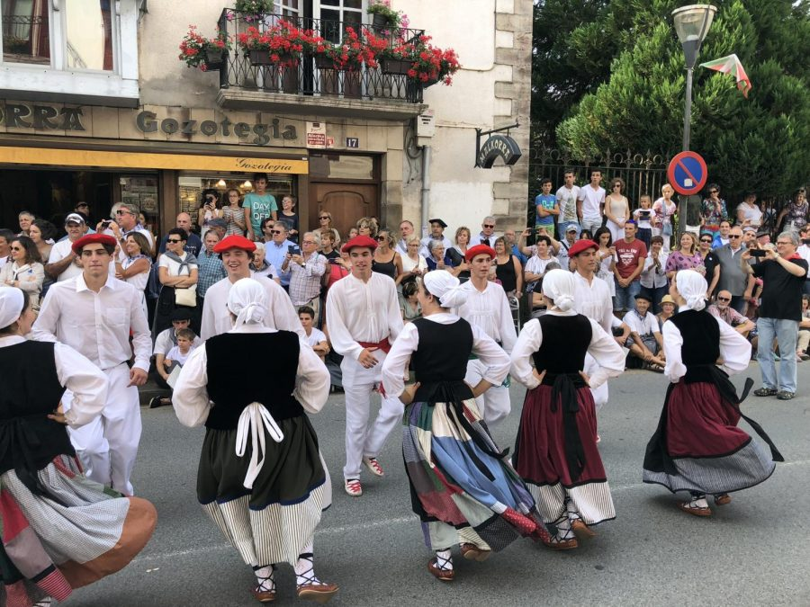 Dancers from five California Basque clubs participated.