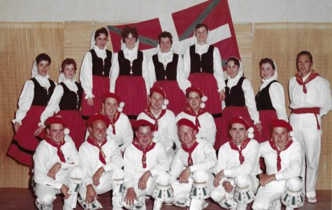 First Basque Dance Group in San Francisco