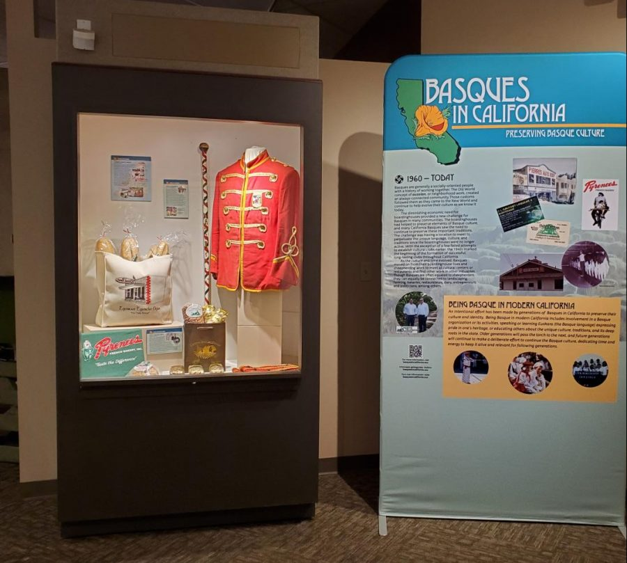 The Basques in California Exhibit in Boise