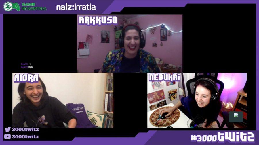 Twitch streamers talk in Euskera