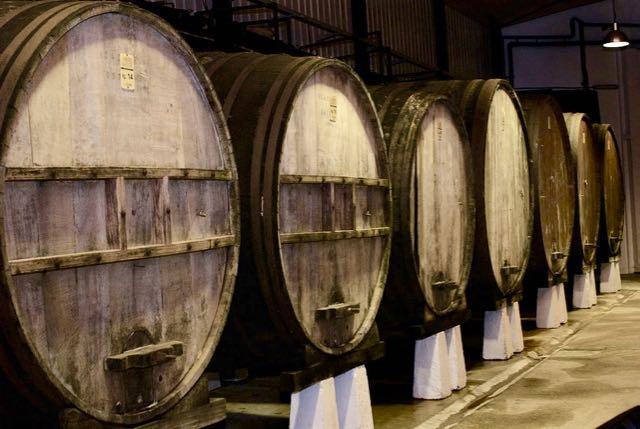 Cider Barrels at Gurutzeta