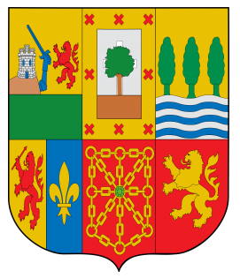 Coat of Arms of Seven Historic Basque Provinces