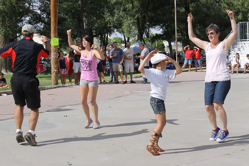 The jota contest at the Elko picnic is a traditional event.