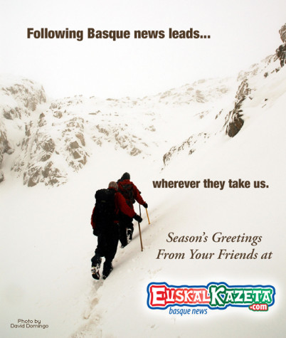 Following Basque news leads... wherever they take us.  EuskalKazeta.com