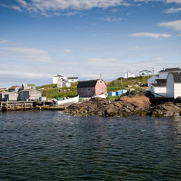 The Red Bay whaling station was founded by Basques in the 1530s. Photo: Chris Samson via UNESCO.