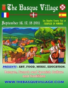 Basque Village Poster, L.A. County Fair