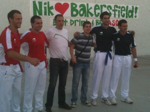 Basque Handball Players