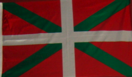 The Basque flag is a symbol of pride for many Basques
