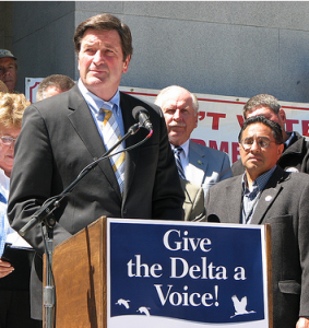 John Garamendi is the grandson of Basque immigrants. Photo from his campaign website.