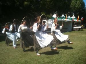 Gauden Bat performed at the L.A. County Fair. Photo: Euskal Kazeta.