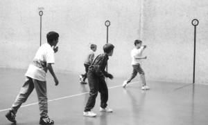 Handball players - Photo by Nancy Zubiri