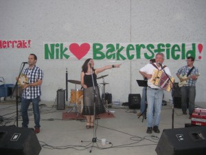 The band's music was a hit at the Bakersfield 09 Festival