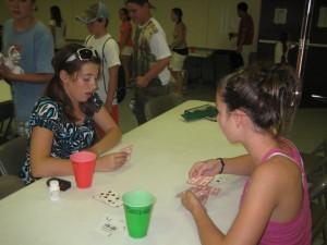 Kids love playing mus at camp.