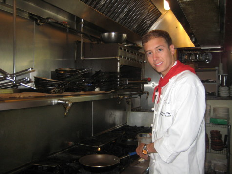 Mattin Noblia spends a lot of time in his North Beach restaurant. Photo: Euskal Kazeta.