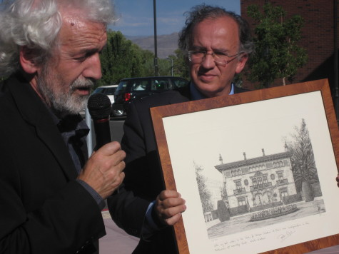 Dedication of Center for Basque Studies