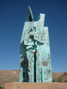 Basque community leader José Ramón Cengotitabengoa was the driving force behind the Basque Sheepherder Monument