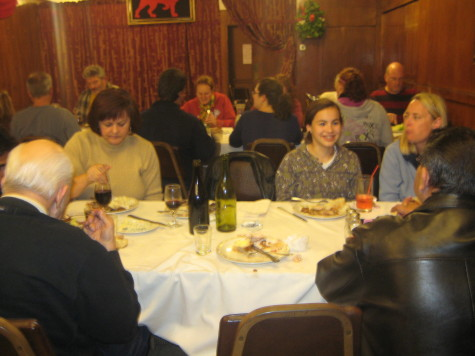 Diners love the monthly barbecue