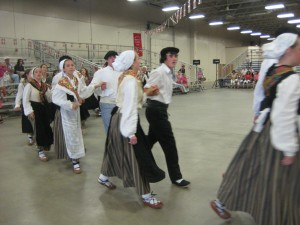 More than 50 dancers came together to create Hartza.
