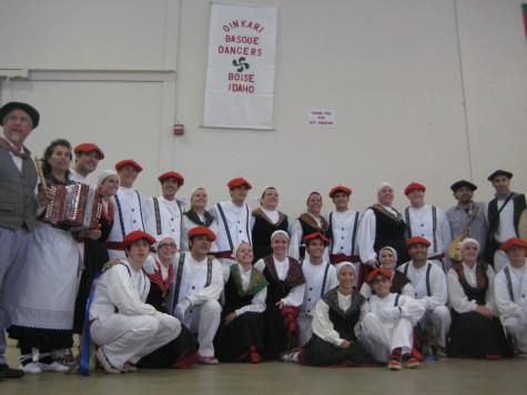 The Oinkari dancers perform at the Idaho Expo.