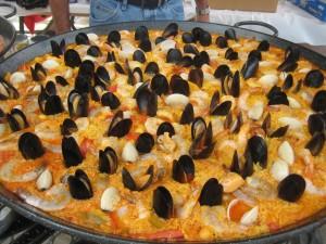Paella at the Las Vegas picnic