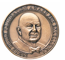 The James Beard Foundation bestows its awards annually.