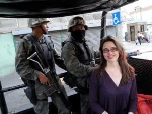 Judith Torrea covers rough-and-tumble Juarez. Photo: Courtesy of Torrea.