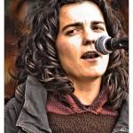Bertsolari Maialen Lujanbio. Photo: Courtesy of San Francisco Basque Club.