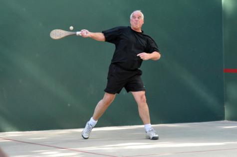 Bidart has played pilota regularly since he built a court on his property 30 years ago.