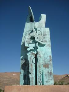 The sheepherder monument. Photo: Euskal Kazeta