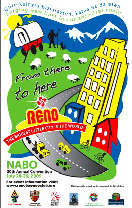 NABO's poster for the Reno event