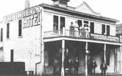 The Noriega Hotel in early Bakersfield.