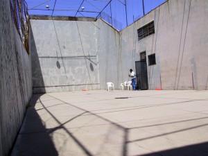 Noriega Hotel handball court