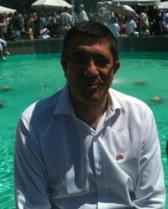 Basque Lehendakari Patxi Lopez said he enjoyed the festival. Photo: Euskal Kazeta.