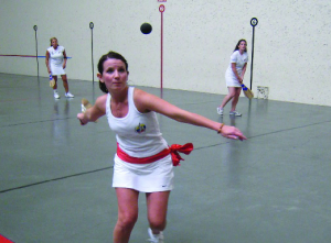 NABO 2009  Women's Paleta Argentina Finals. Photo: U.S. Federation of Pelota.
