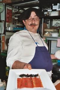 Chef Joseba Jimenez de Jimenez. Photo: Euskal Kazeta
