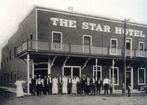 The Star Hotel Shortly After It Was Built In 1910 Photo Courtesy Of