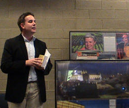 Steve Gamboa at previous symposium. Photo: Courtesy of Astero.