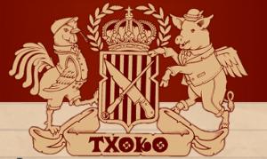The emblem for San Francisco's newest Basque-them restaurant.
