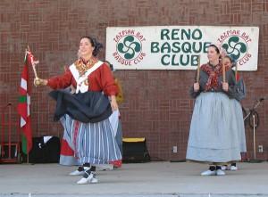 Zenbat Gara dances at Reno festival